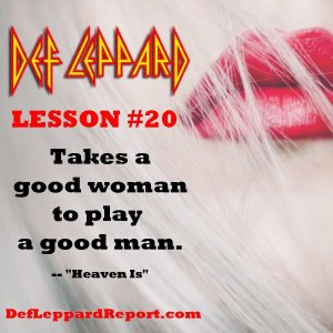 Def Leppard Lyrics Lesson - Heaven Is