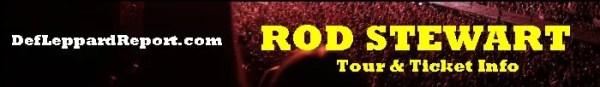 Rod Stewart tour tickets
