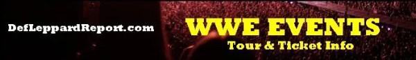 WWE tickets