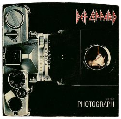 Def Leppard Photograph 45 vinyl single sleeve