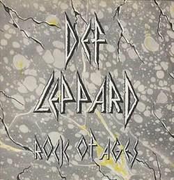 Def Leppard Rock of Ages 45 vinyl single sleeve