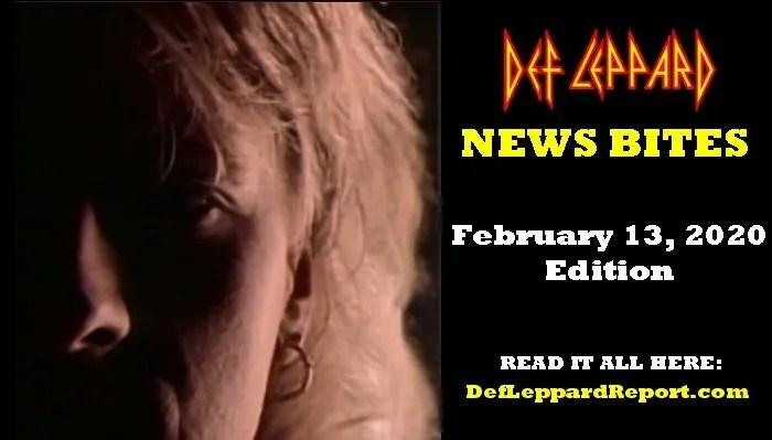 Def Leppard News Bites