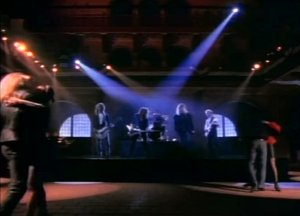 Def Leppard Hysteria Music Video screengrab