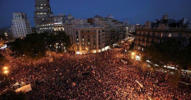 La fiscalia denuncia per sedició les concentracions dels dies 20 i 21 a Catalunya