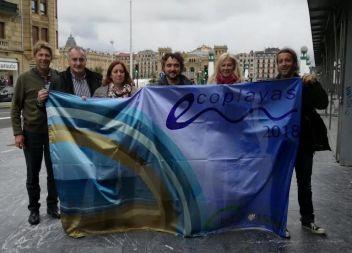 Capdepera i Llucmajor recullen els reconeixements d'Ecoplayas a Donostia