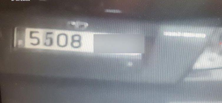 Detingut a Mallorca un home que modificava la seva matrícula per anar-se sense pagar de les gasolineres
