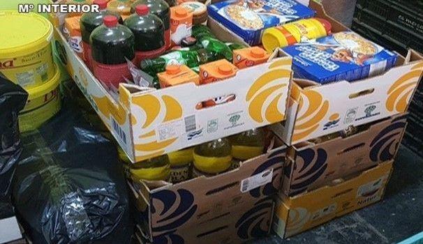 Intervinguts aliments caducats en comerços de Llucmajor