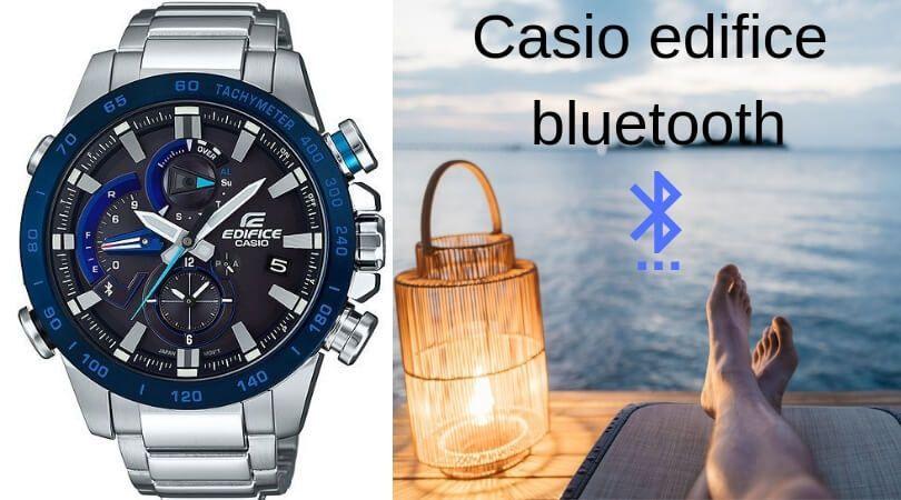 Casio edifice bluetooth - Reloj Casio Edifice para Hombre