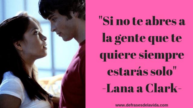 Si no te abres a la gente que te quiere siempre estarás solo  Lana a Clark 1 1 640x360 - Smallville frases