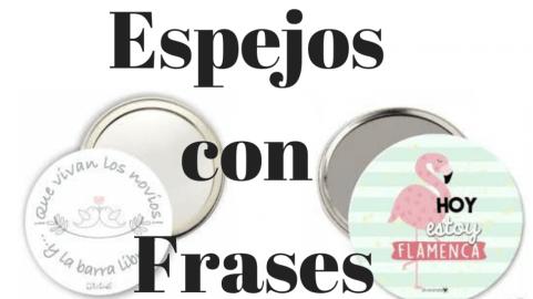 Espejos con Frases
