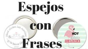 Espejos con Frases - Libretas con frases
