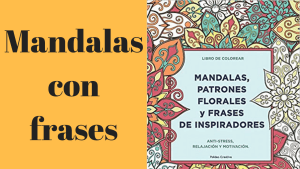 Mandalas con frases - Cojines con frases