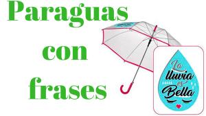 Paraguascon frases - Globos con frases