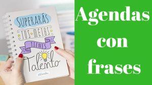 Agendas con frases - Cuadernos con frases