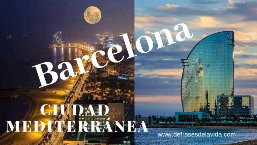Barcelona ciudad mediterránea 1024x576 - Barcelona frases