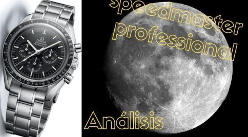 The Moonwatch, el primer reloj utilizado en la Luna