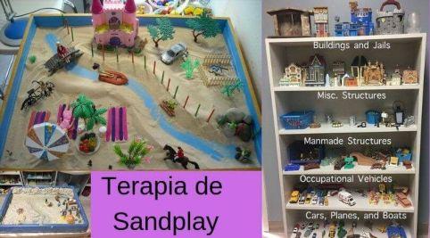 caja de arena terapia