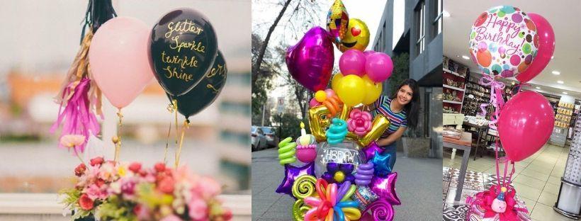 globos para fiestas - Globos con frases
