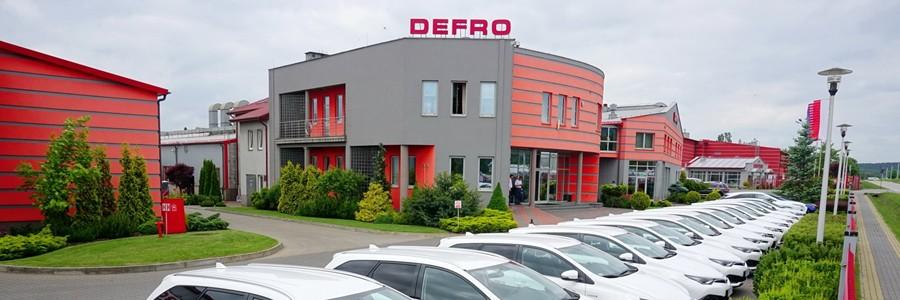 Siège de Defro en Pologne