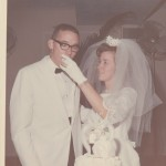 Tommy & Eunice Zeigler on their wedding day