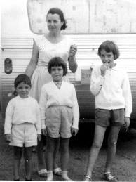 Jane, Grant & Arnna with mom Nancy