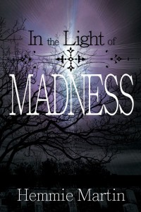 """Book cover """"in light of the madness"""" by Hemmie Martin"""
