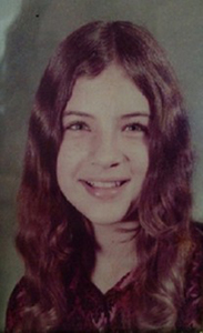 Lisa Thomas' school photograph, courtesy of her family