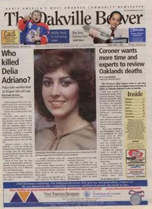 Delia Adriano, Oakville Beaver, public domain