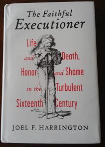 book cover the faithful executioner by harrington