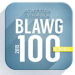 ABA Blawg100 Honoree Badge 2015