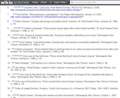 True Crime Wiki 5/Anne L. Barber Dunlap