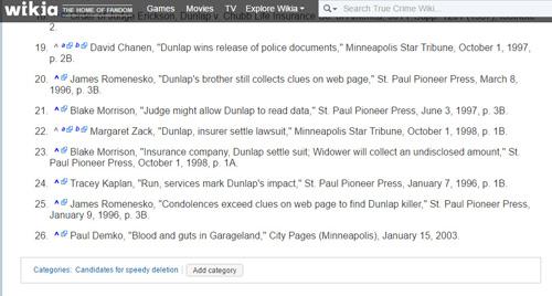 True Crime Wiki 6/Anne L. Barber Dunlap