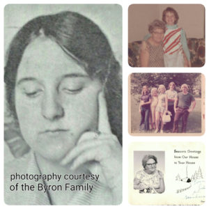 Ruby Grace Byron: photography courtesy of the Byron Family/Grid AdS