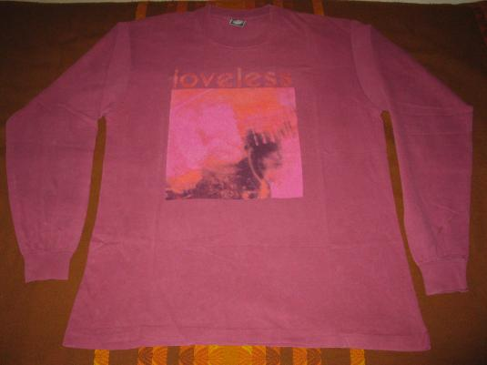 1991 MY BLOODY VALENTINE LOVELESS VINTAGE T SHIRT