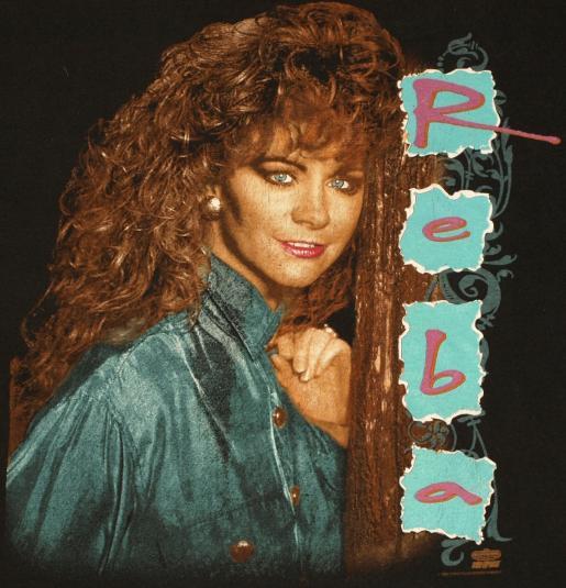 Vintage 1993 Reba McEntire Country Music Concert TShirt
