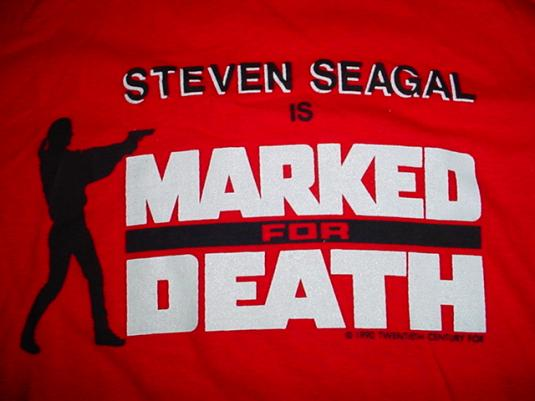 Vintage Steven Seagal TShirt Marked For Death M