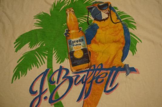 Vintage Jimmy Buffett Coral Reefer Band T Shirt Corona M