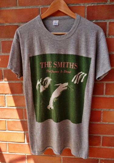 VINTAGE 1986 THE SMITHS QUEEN IS DEAD TSHIRT