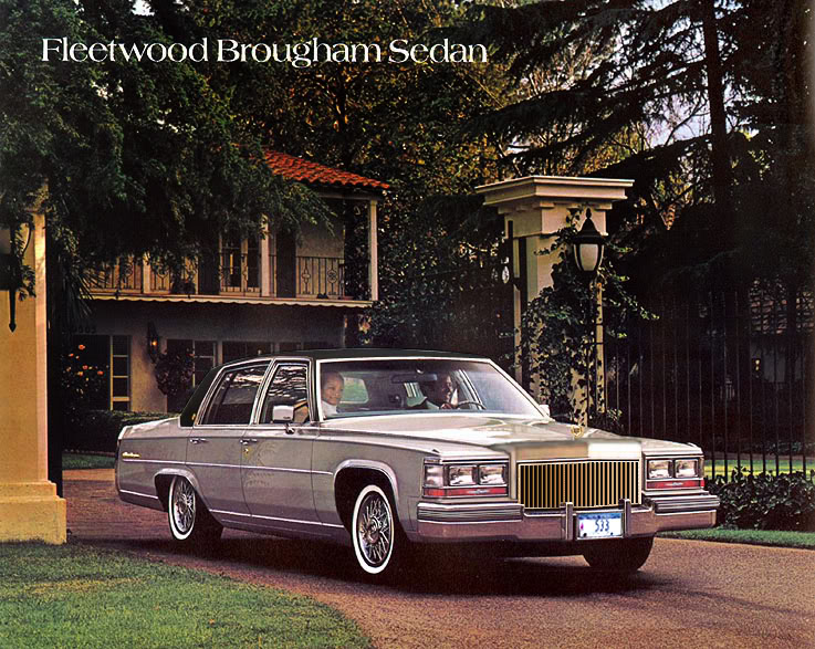 Cadillac Brougham Sedan And Coupe 1987 1992 DeFY New