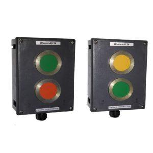 Устройства светосигнальной и звуковой сигнализации взрывозащищенные типа УССВ