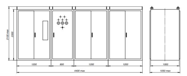 Установки конденсаторные высоковольтные типа УКВ