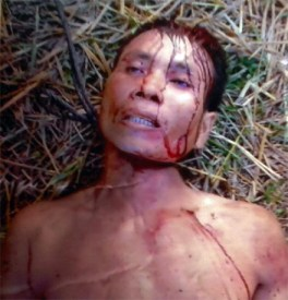 Hung to death by vietnamese