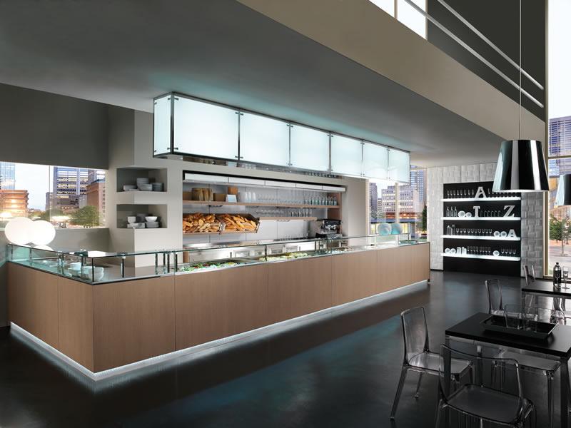 Banco bar Multifood originale dinamico design