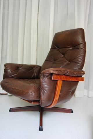 Retro jaren 70 design fauteuil van GMbel Gte Mbel