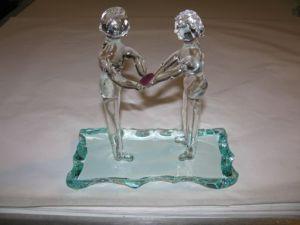 Glaskunst Man en Vrouw