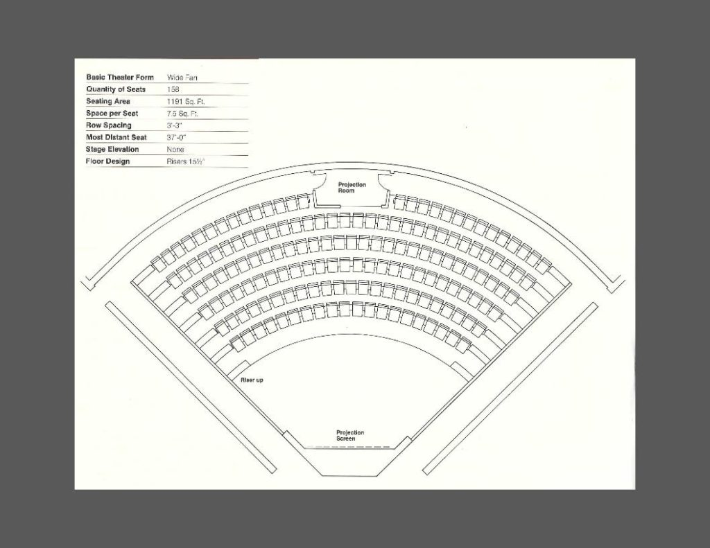 Auditorium Seating Layout  Dimensions  The Complete