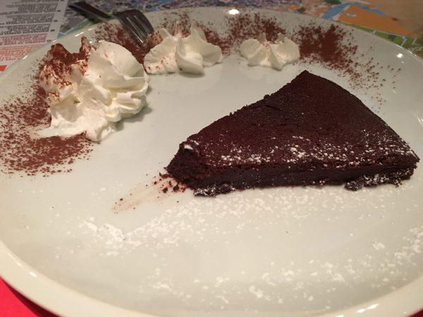 Chocolade dessert van Oke Zaterre