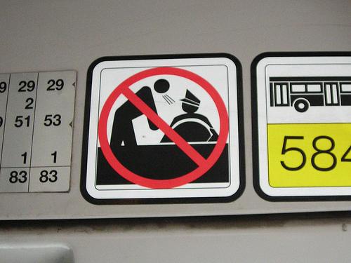 Croce Rossa: non parlate al conducente.