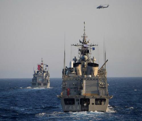 La Fregata Espero termina il suo impegno in Sea Guardian