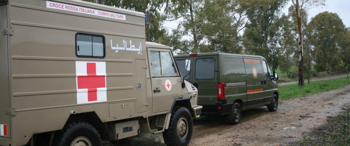 Croce Rossa: Corpo Militare, numeri, mai persone